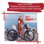 Gerlar Virtual Ride, PRURide 2020 Kobarkan Indonesia Sehat Menghadapi Pandemi Sambil Berdonasi